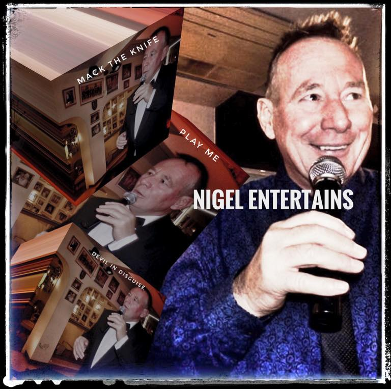 nigel entertains